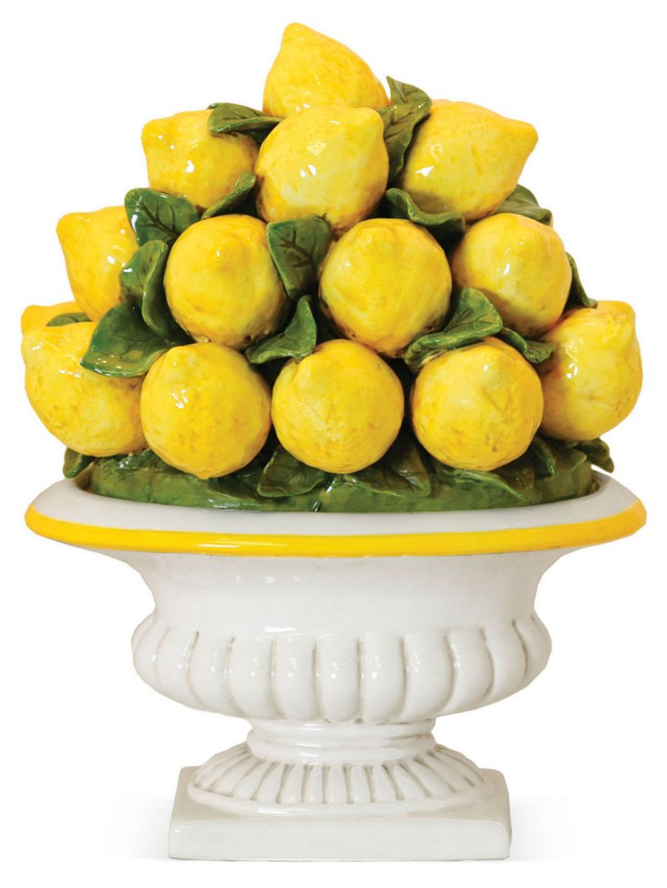 Lots of Lemons Topiary Objet