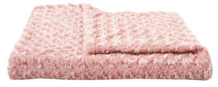 Rosebud Throw, Pink