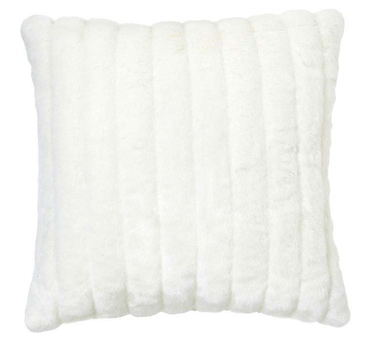 Channel 20x20 Pillow, Ivory