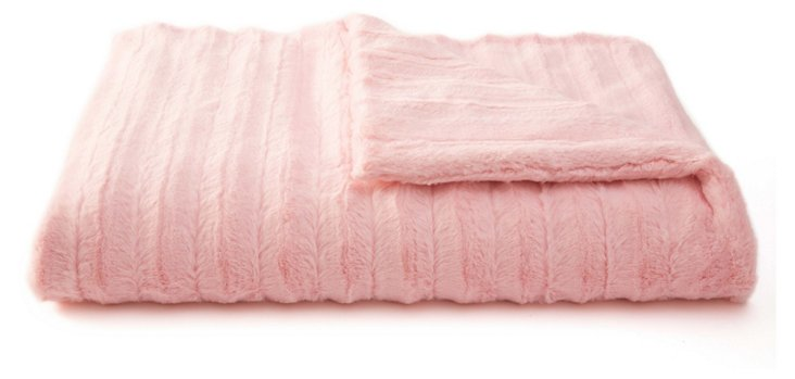 Channel Throw, Pink