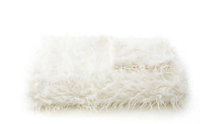 Sheep Throw, Ivory
