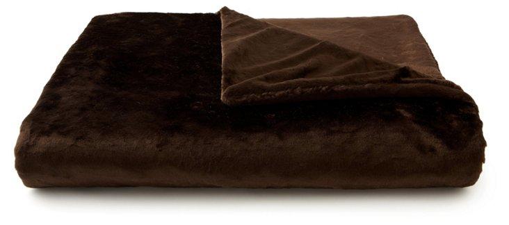 Beaver Throw, Chocolate