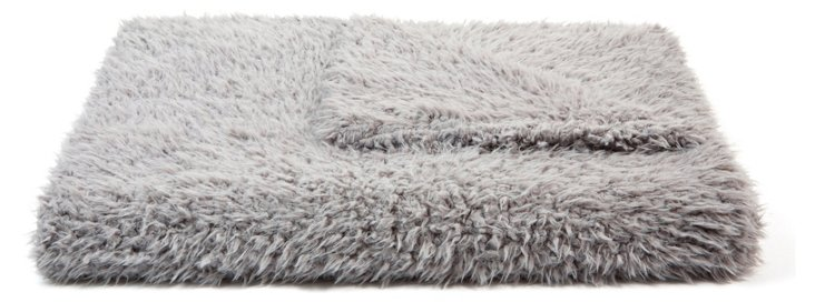 Sheep Throw, Gray