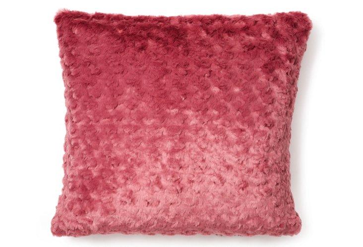 Mink 20x20 Pillow, Plum