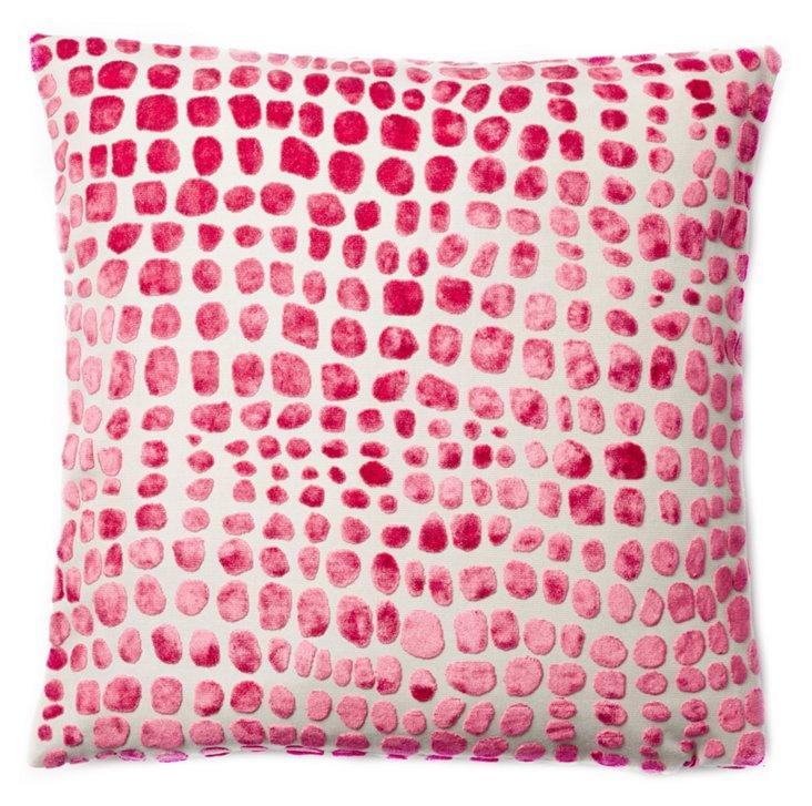 Dots 20x20 Pillow, Pink