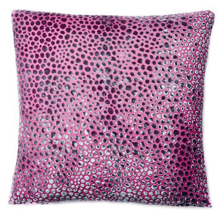 Vibrant 20x20 Pillow, Purple