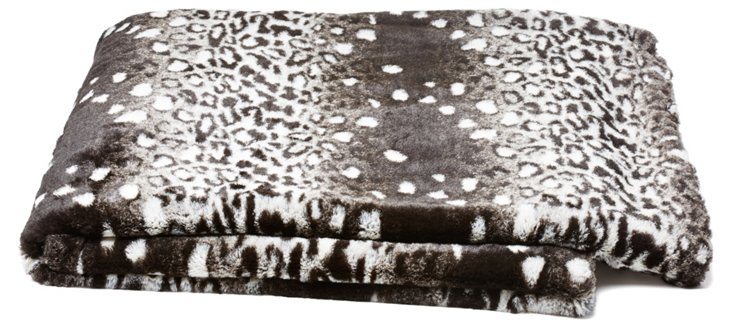 Jaguar Throw, Black