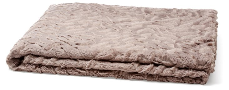 Marbella Throw, Taupe