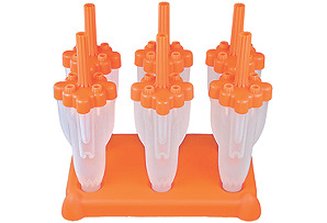 7-Piece Rocket Ice Pop Mold Set