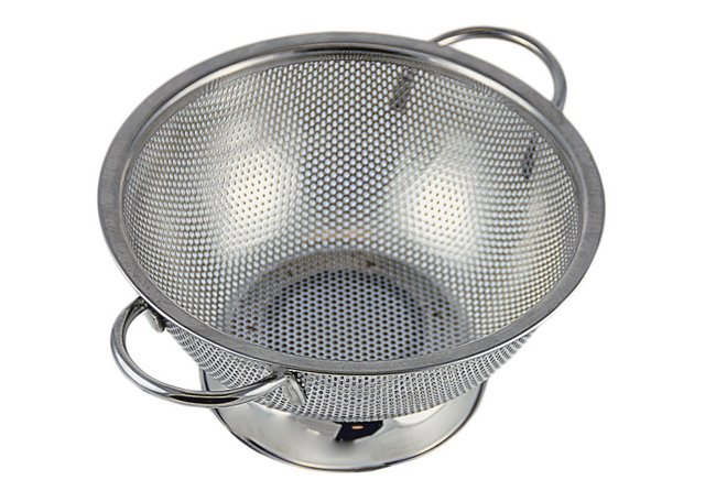 Stainless Steel Colander, Large