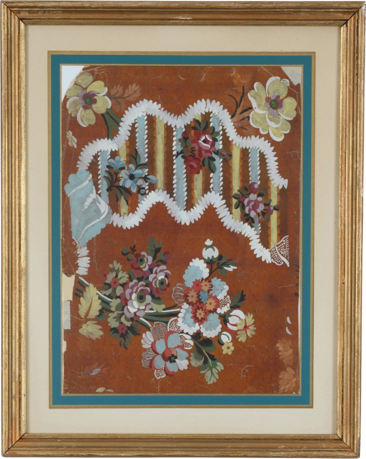 Louis XV Wallpaper Sample
