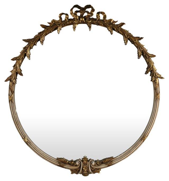 Round Nouveau Mirror