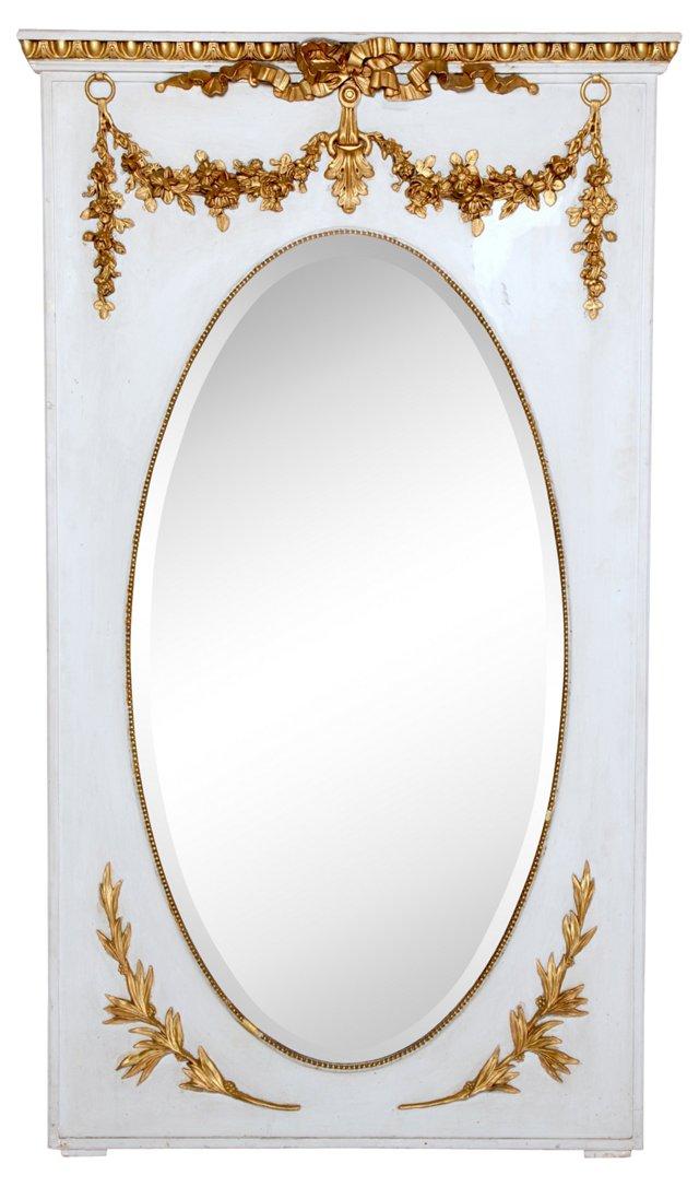 Oval Mantel Mirror
