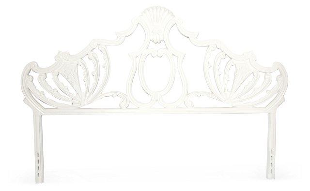 Baroque Iron Headboard