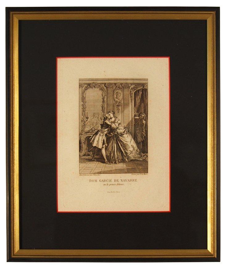 Dom Garcie de Navarre Print
