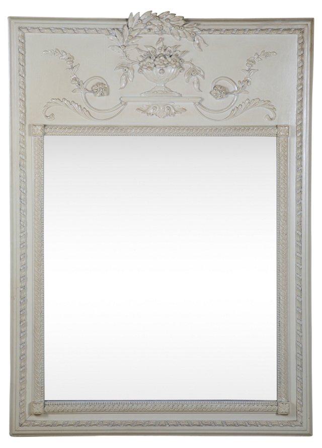 Floral Trumeau Mirror