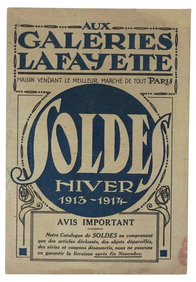 1913 Galeries Lafayette  Catalog