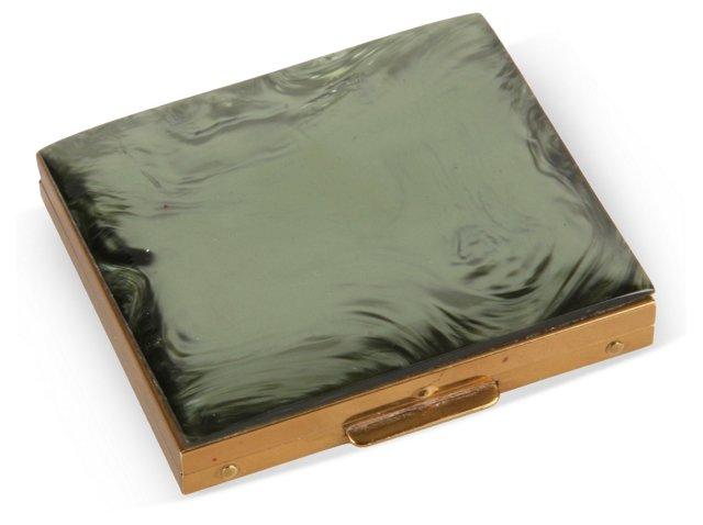 1950s Iridescent Compact