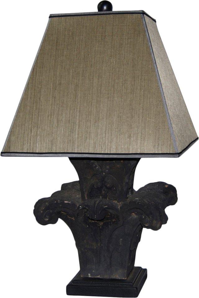 Stone Finial Lamp