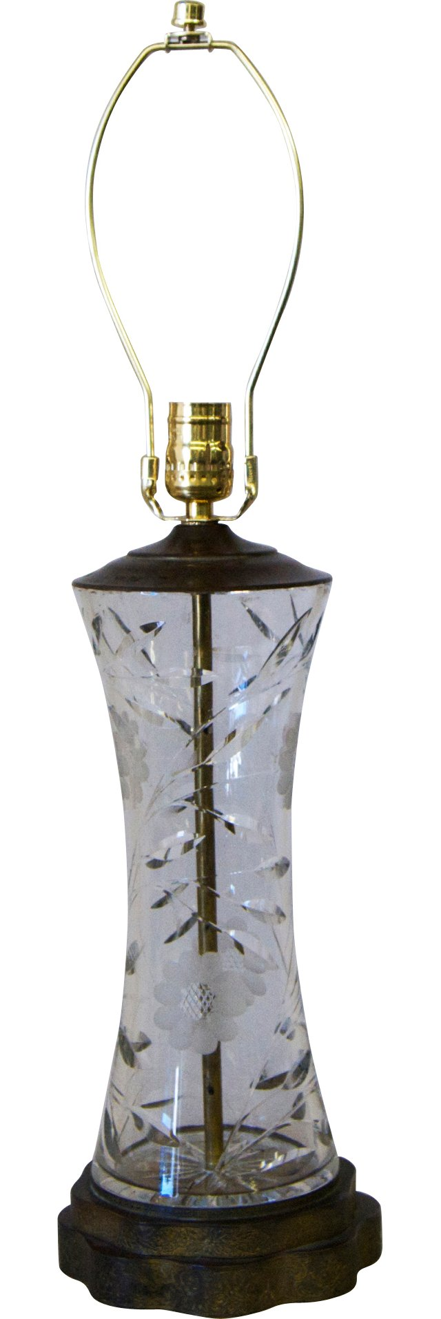 Cut Crystal Lamp