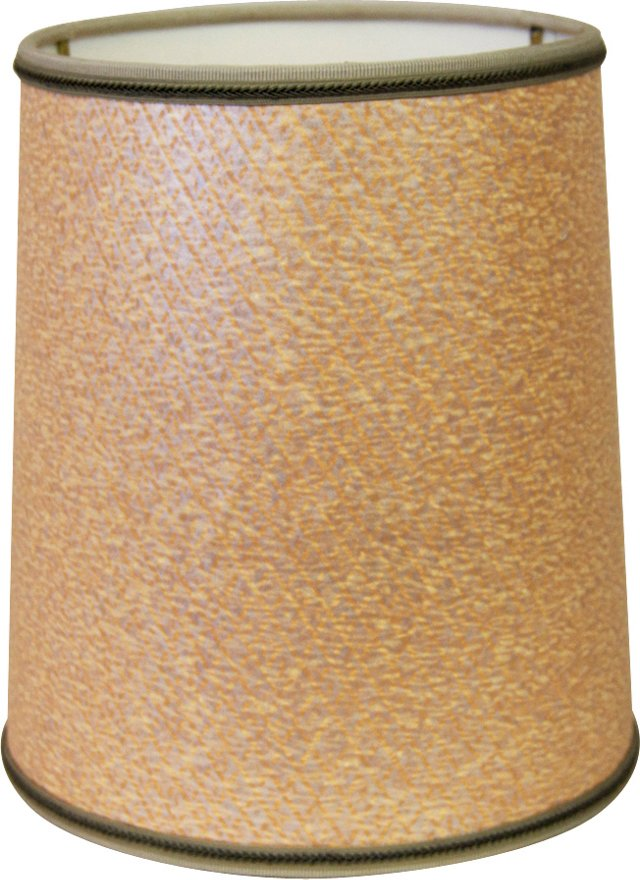 Apricot Drum Shade