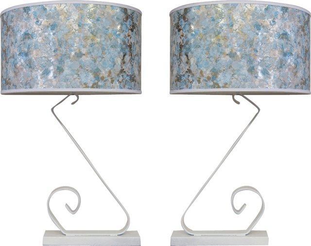 Bracket Lamps, Pair