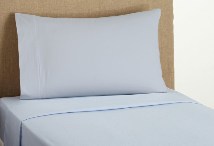 Chambray Sheet Set, Blue