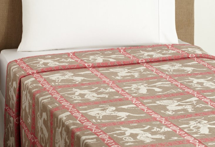 Great Plains Coverlet, Brown