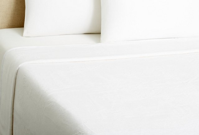 Kashmina Blanket, White