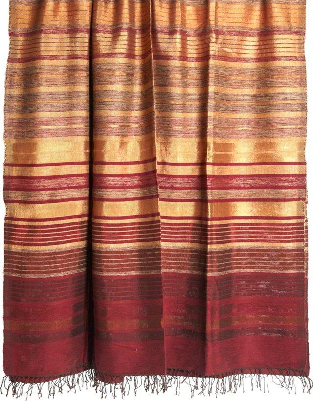 Vintage Moroccan Cotton Indian Textile