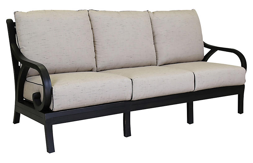 Monterey Outdoor Sofa, Ancient Bronze