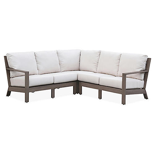 Laguna Sectional, Canvas Sunbrella