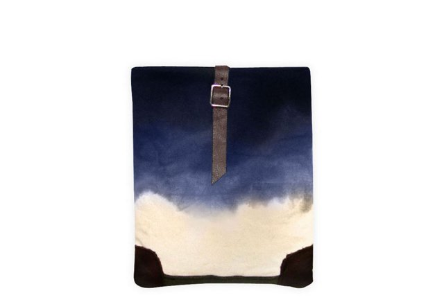 iPad Case, Indigo Dip Dye