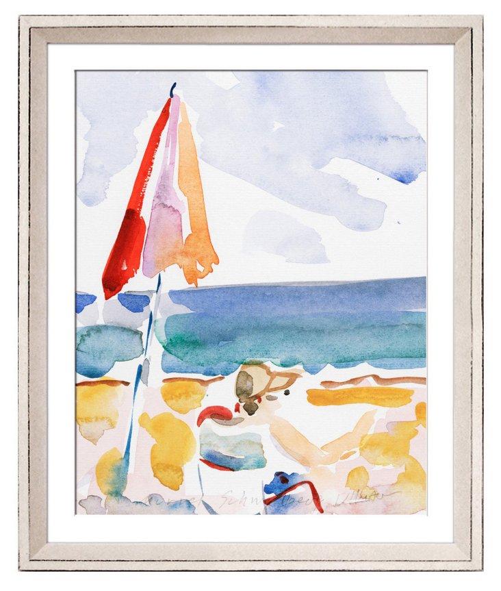Boll-Hughes, Relaxing on the Beach