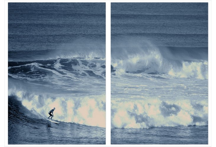 P. Souders, Surfing Bell's Beach
