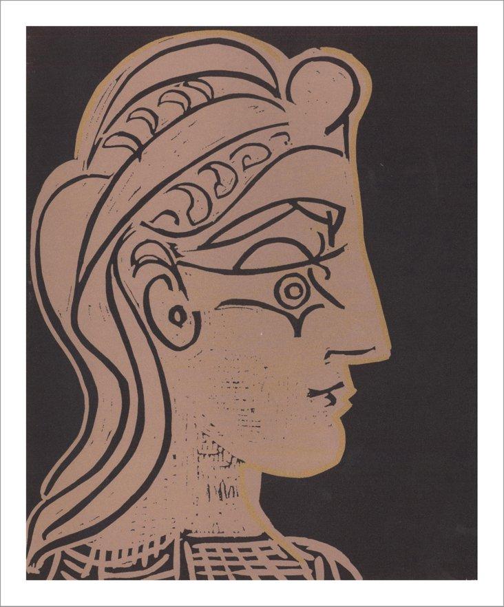 Picasso, Female Head in Profile