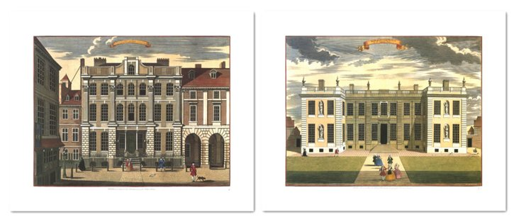 John Stow, Buildings II, Set of Two