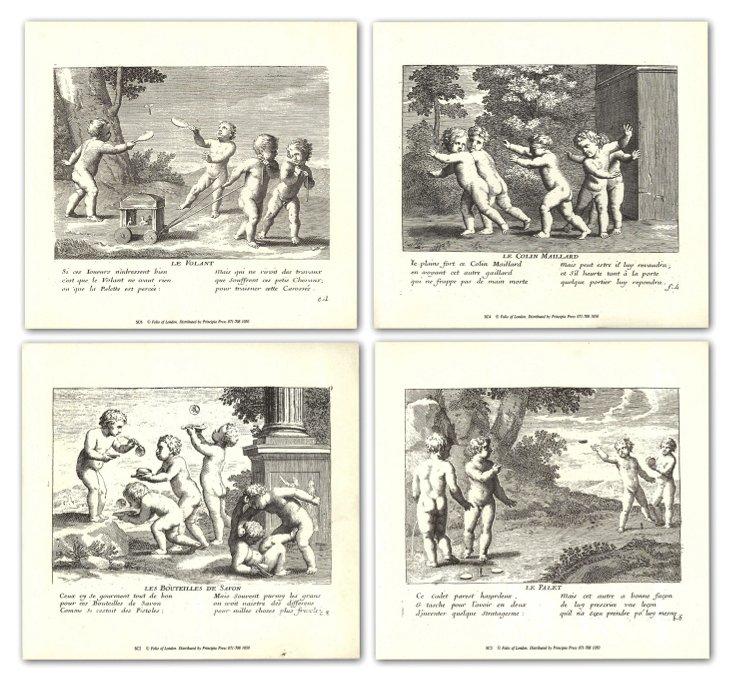 Jacques Stella, Children, Set of Four