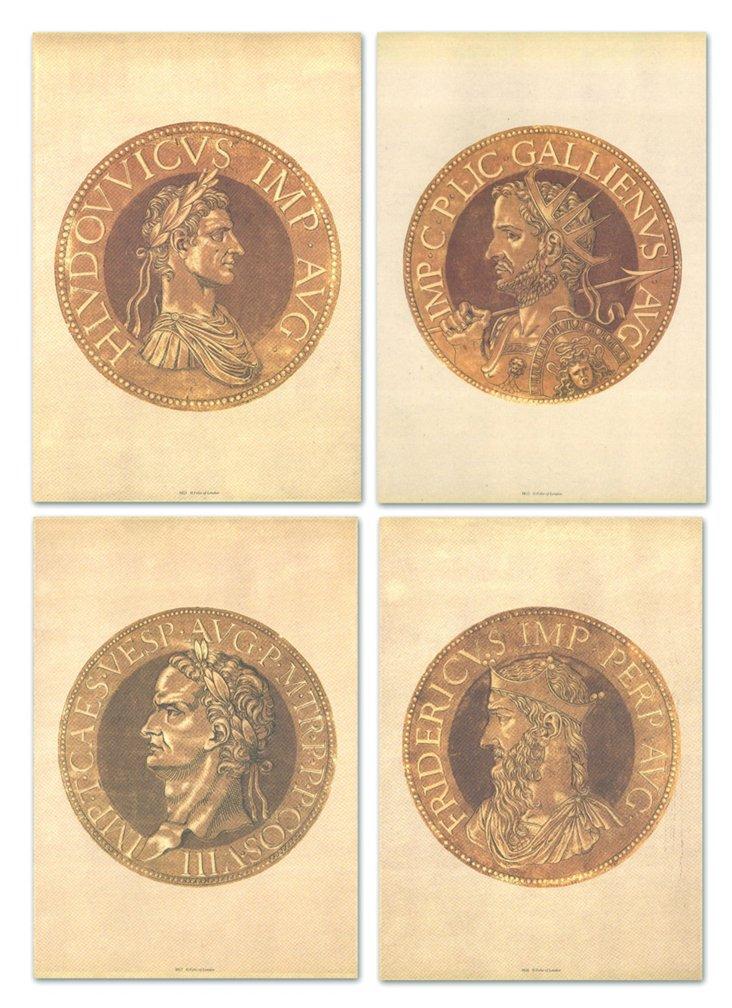 Goltzius, Coins, Set of Four