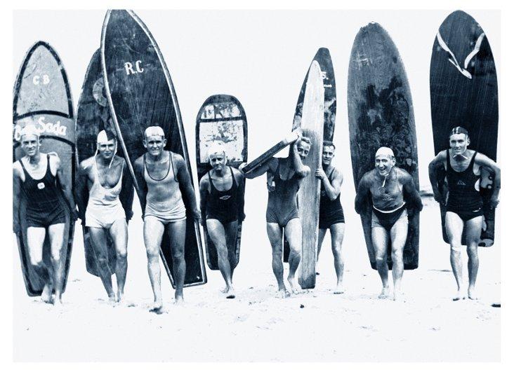 Philip Gendreau, Surf Riders