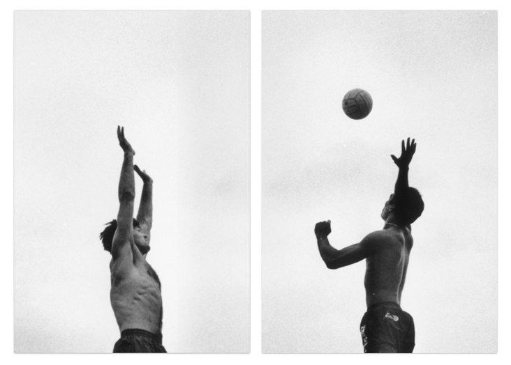 Ed Quinn, Beach Volleyball at the Net