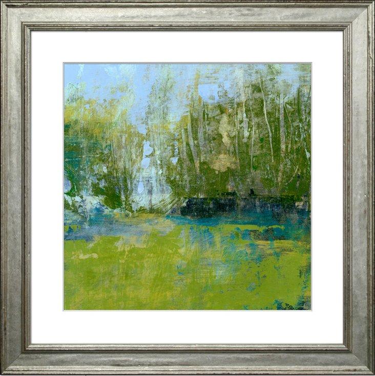 L. Walle, Tree-Lined Landscape