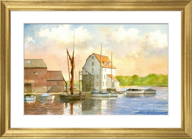 Suffolk Watercolor I