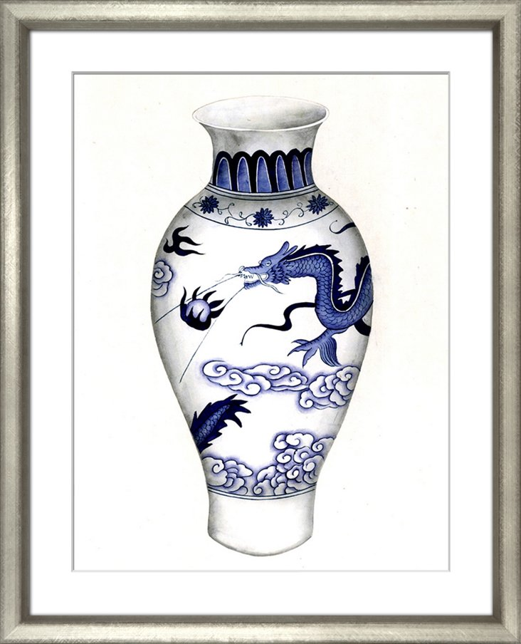 Blue & White Ceramics III