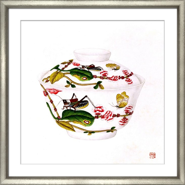 Chinese Porcelain Print
