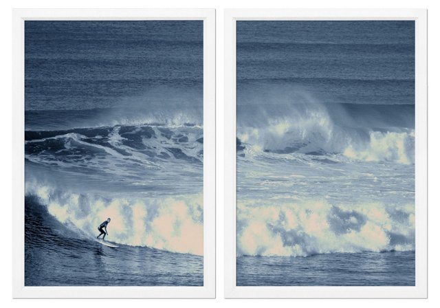 Bell's Beach Surfer Diptych