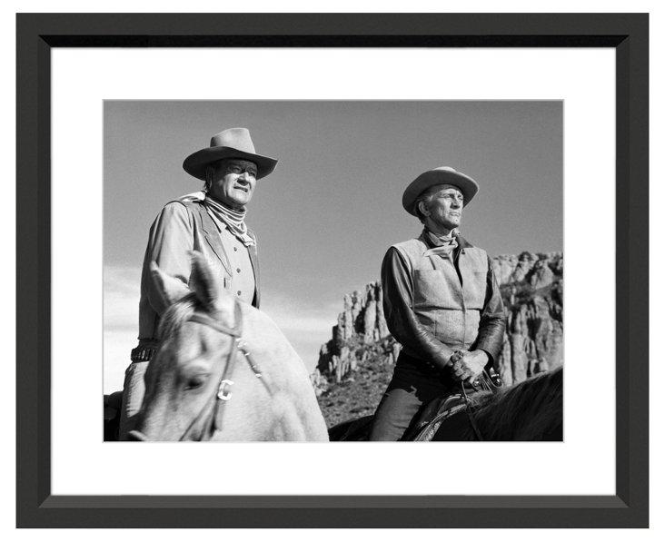 John Wayne & Kirk Douglas