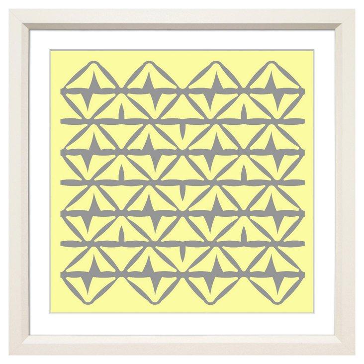 Allison Paladino, Mahalo Yellow/Gray I
