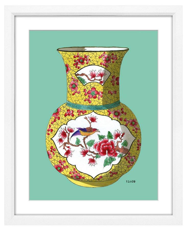 Fourmaintraux Vase Teal II