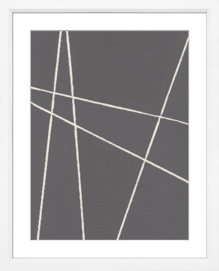 Slate Grey Abstract III